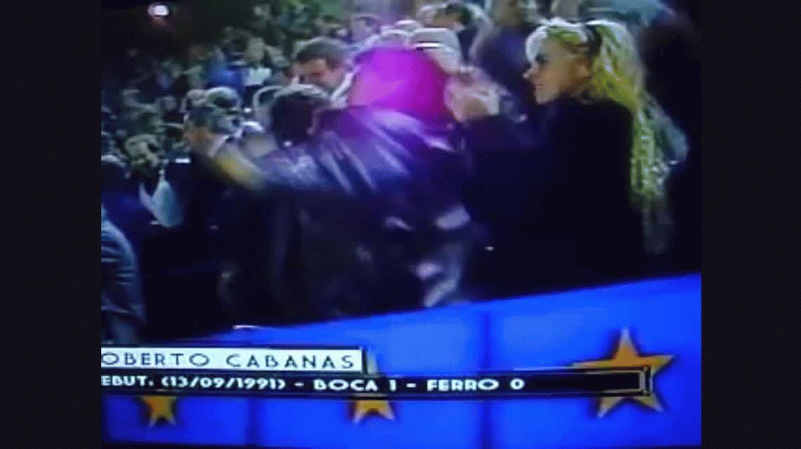 Todos los goles de Roberto Cabañas en Boca Juniors