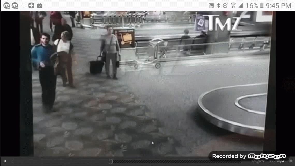 El video del ataque en el aeropuerto de Fort Lauderdale