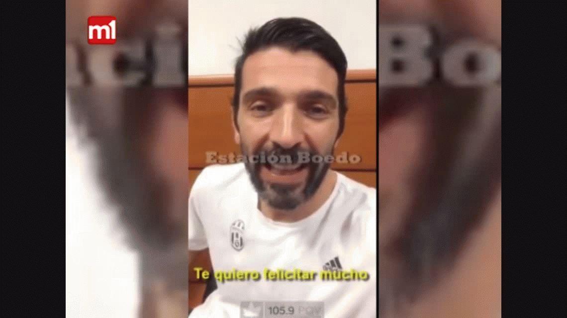 La amistad menos pensada: Buffon felicitó a Torrico por su gran temporada