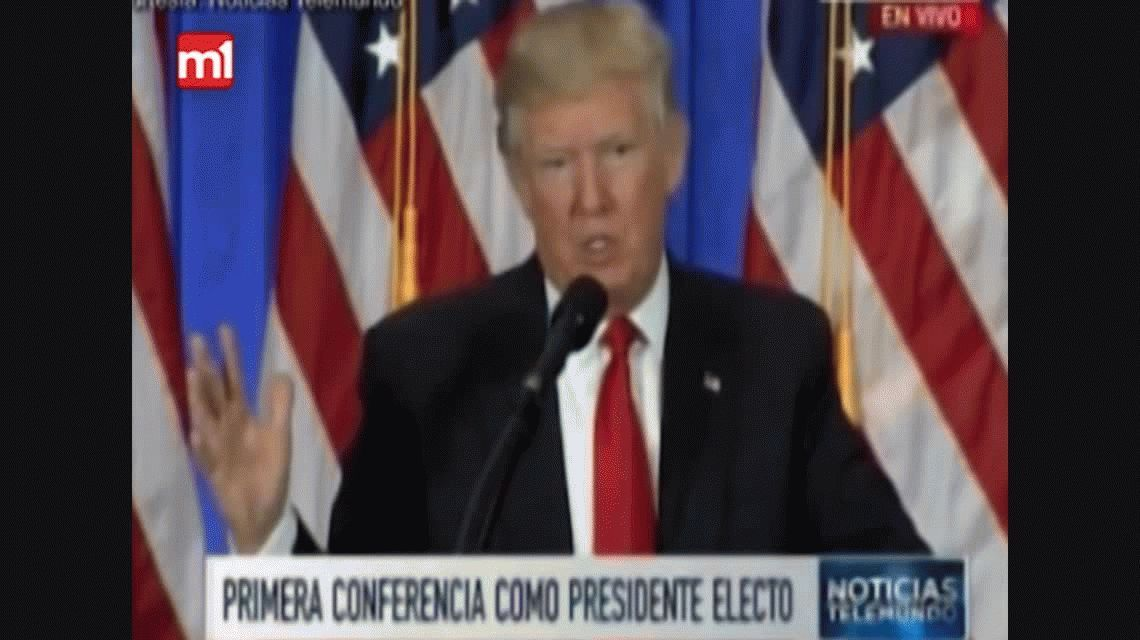 Trump: Voy a empezar a construir el muro ya