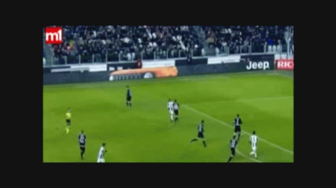 VIDEO: El golazo de Dybala que le dio la clasificación a Juventus