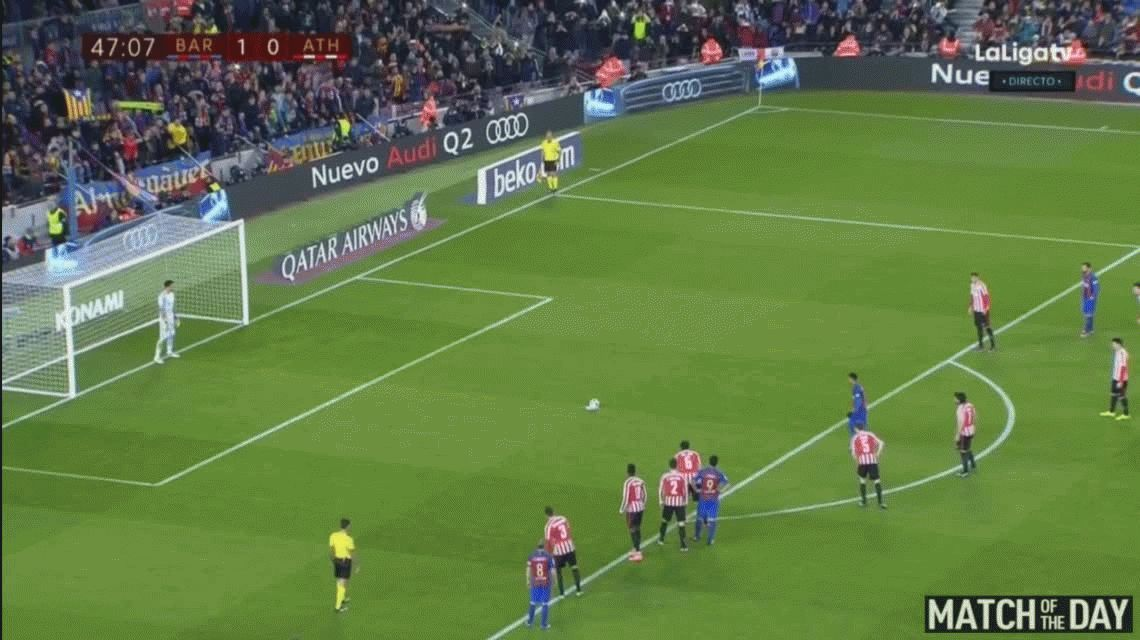 Con un gol de Messi, Barcelona le ganó a Bilbao y pasó a cuartos