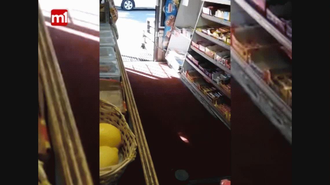 La dueña de un kiosco logró filmar al ladrón que le robaba hace 5 años