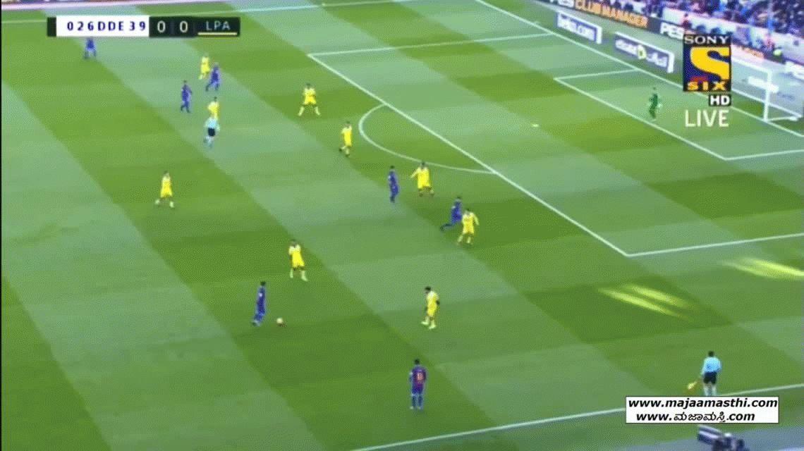 Con un Messi imparable, Barcelona goleó a Las Palmas en el Camp Nou