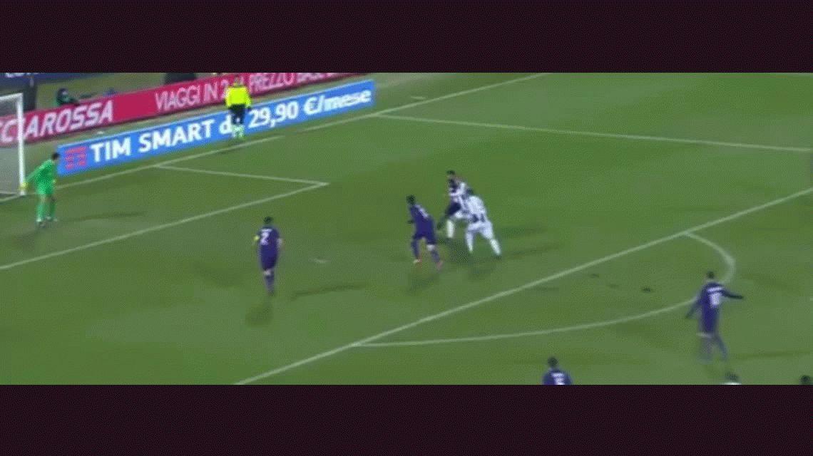 Pese a un gol de Higuaín, Juventus perdió ante la Fiorentina