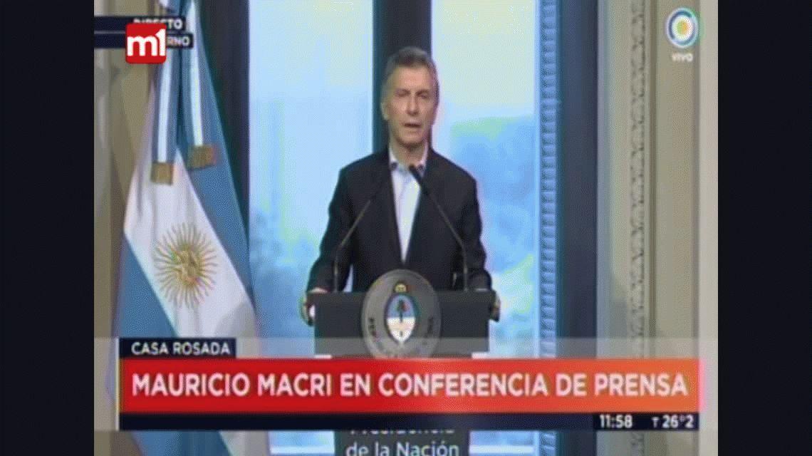 Mauricio Macri se refirió al 5 que le puso Franco