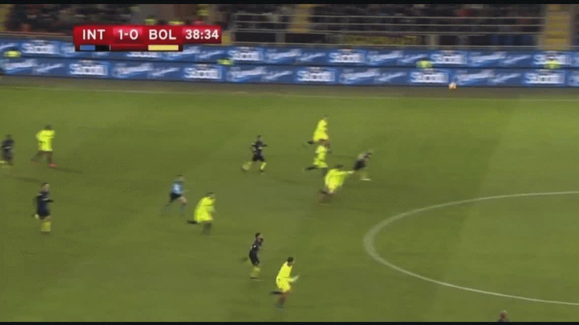 El gol de Palacio y la imperdible chilena de Murillo en la victoria del Inter