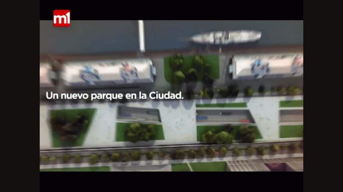 Más espacio verde en la Ciudad: así será el nuevo Parque del Bajo