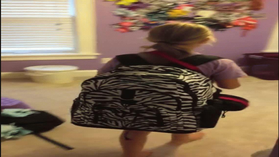Una nena lloró al recibir a su nueva mascota y se volvió viral