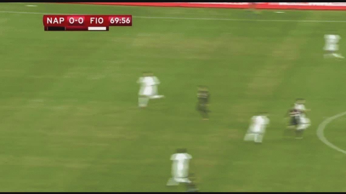 Nápoli le ganó a la Fiorentina y está en semis de la Copa Italia