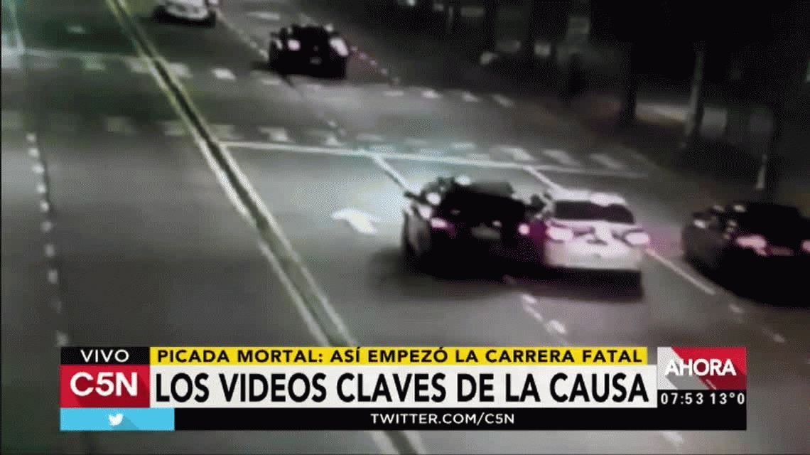 VIDEO: Así comenzó la picada fatal de Vicente López