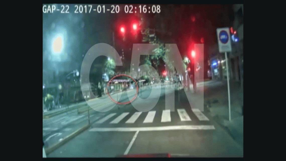 VIDEO: Así fue el choque, la fuga y la captura de los que mataron a la maestra