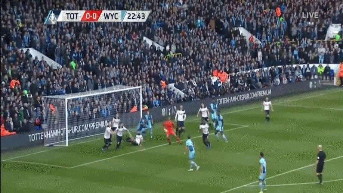 Sufriendo, el Tottenham de Pochettino ganó y avanzó en la FA Cup