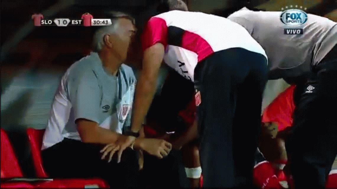 La lesión de Juan Sebastián Verón: desgarro grado 2 del bícep femoral