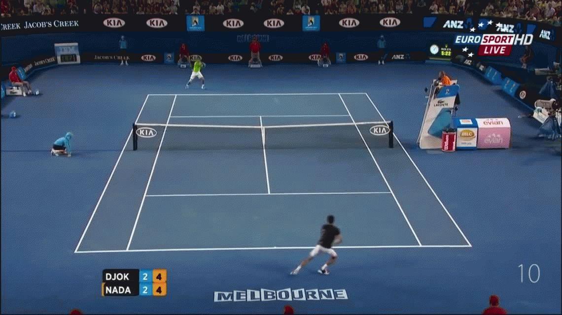 Los 10 mejores puntos de Rafael Nadal en el Abierto de Australia
