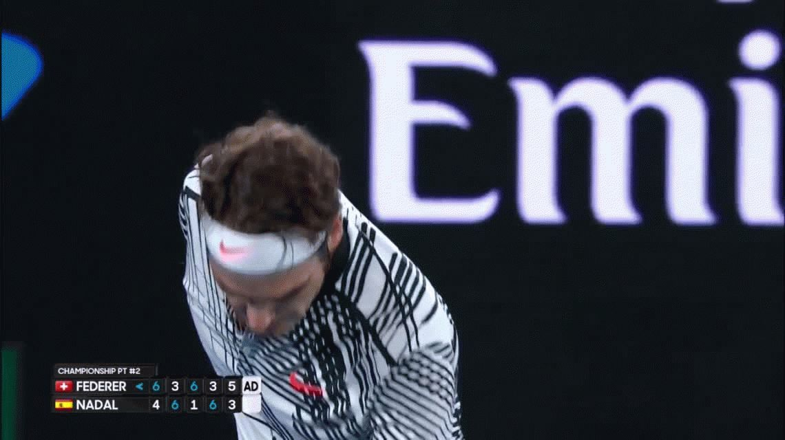 VIDEO: Así fue el último punto de la final de Australia entre Federer y Nadal