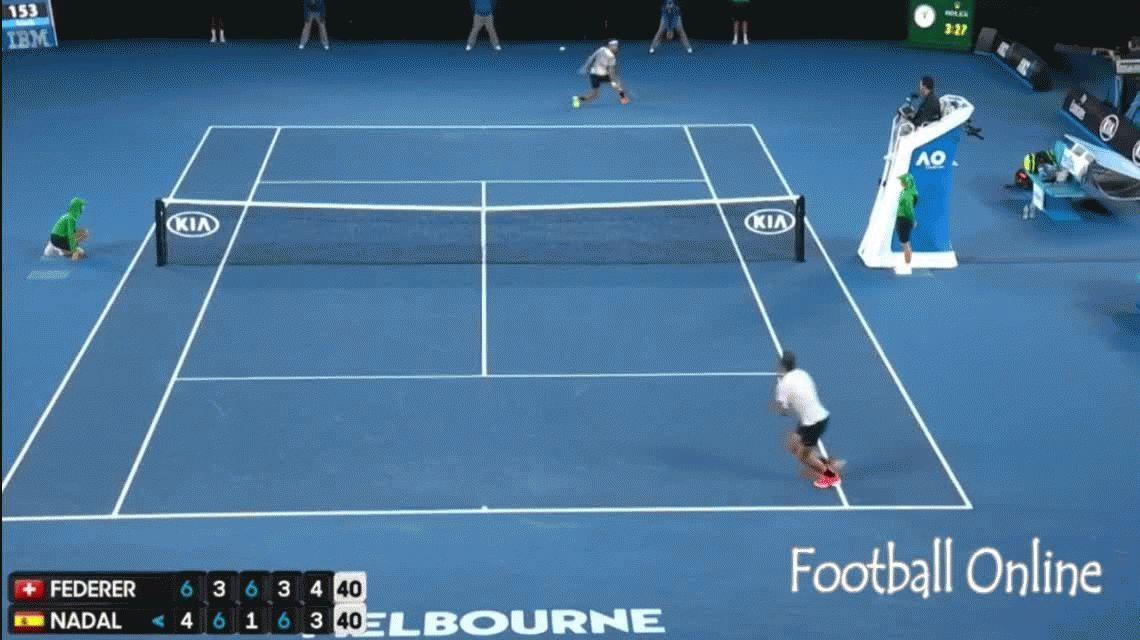 VIDEO: El mejor punto de la gran final entre Federer y Nadal en Australia