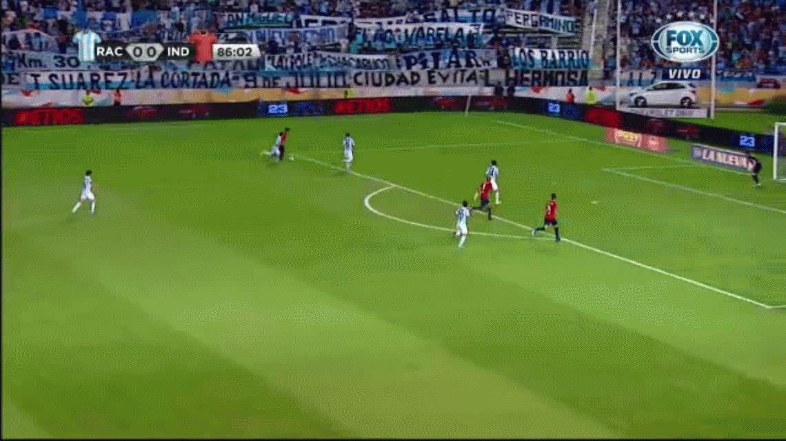 VIDEO: Vera desperdició dos goles hechos que eran el triunfo de Independiente