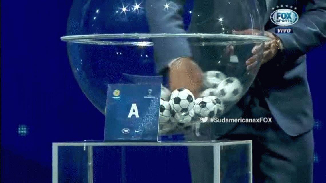 Se sorteó la Copa Sudamericana: ¿con quiénes juegan los argentinos?