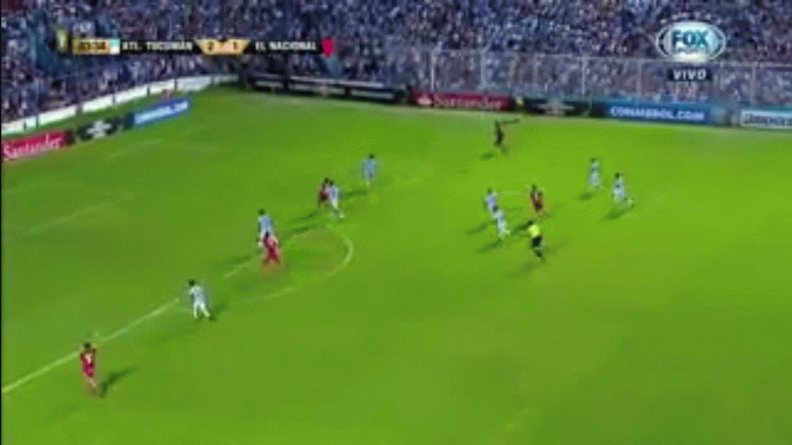 Atlético Tucumán fue muy superior pero empató con El Nacional