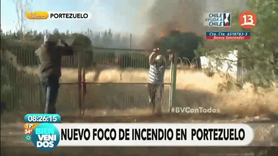 VIDEO: El bombero que se volvió viral por tratar de romper un candado y fallar