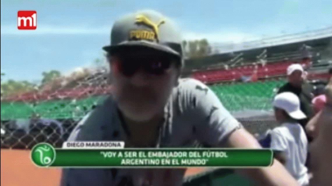 Maradona: Si Bauza se reunió con Icardi, es tan traidor como él