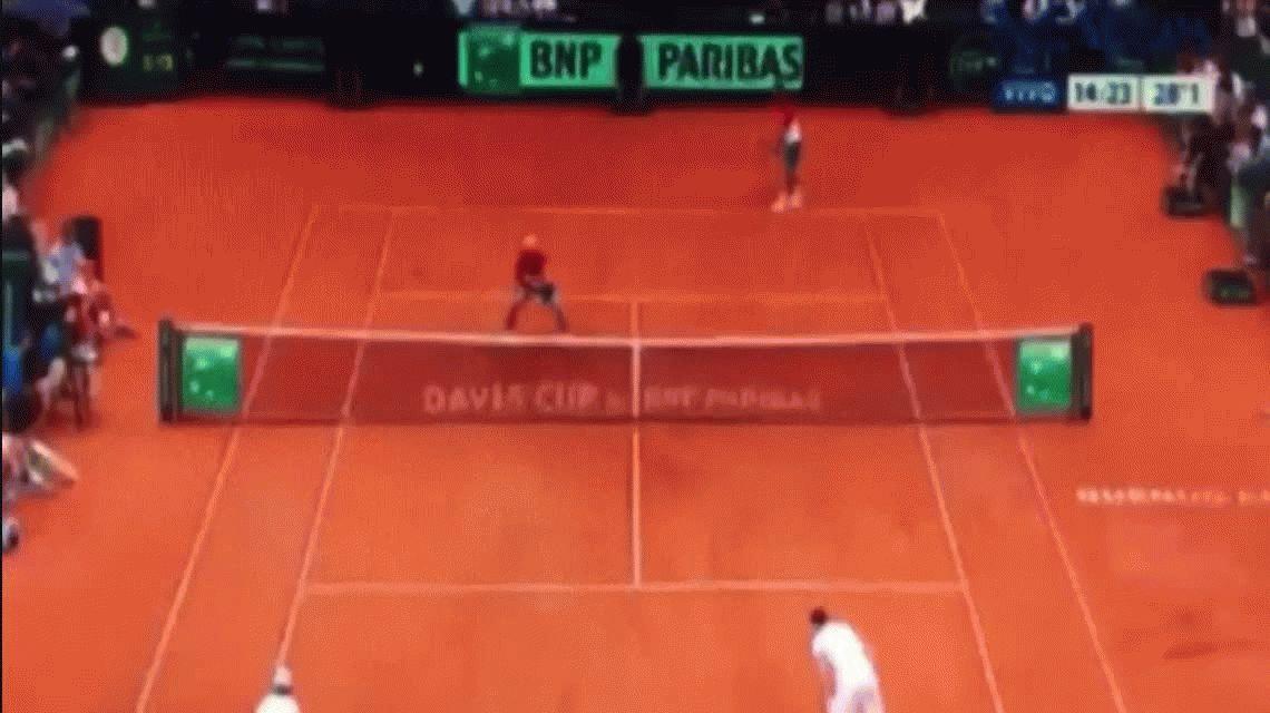 Copa Davis: Fabio Fognini se quejó del público argentino