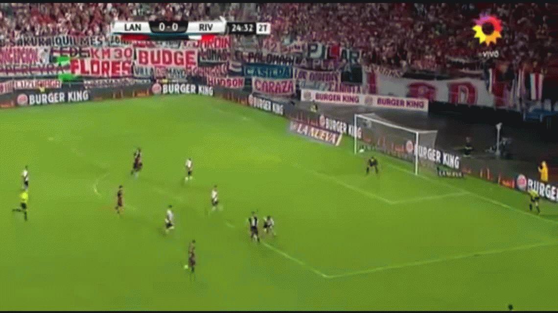 Gol de Acosta para Lanús 1 River 0 por la Supercopa