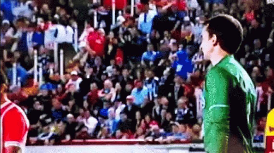 De no creer: Marcelo Barovero y una atajada que motivó ¡hasta el festejo del árbitro!