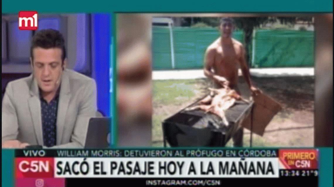 Así detuvieron en Córdoba al sospechoso de la masacre de Hurlingham