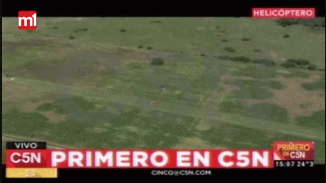 Se estrelló una avioneta en Marcos Paz: hay cinco muertos