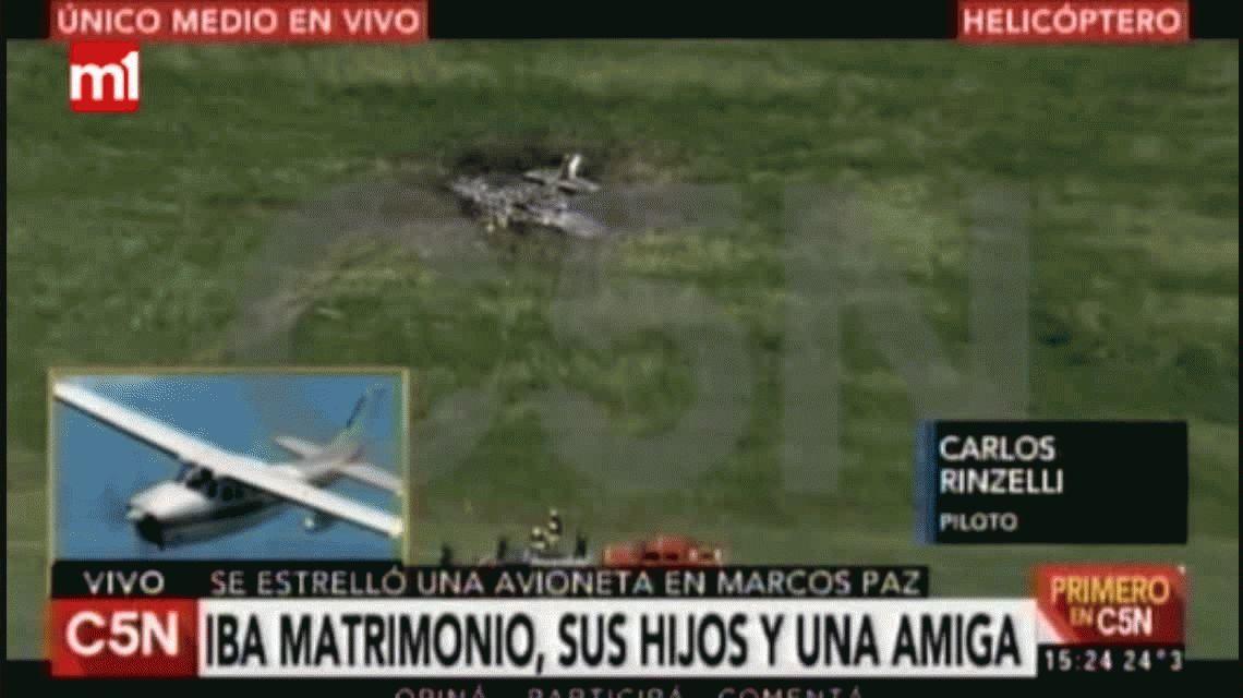 Tragedia aérea en Marcos Paz: por qué motivo se cayó la avioneta