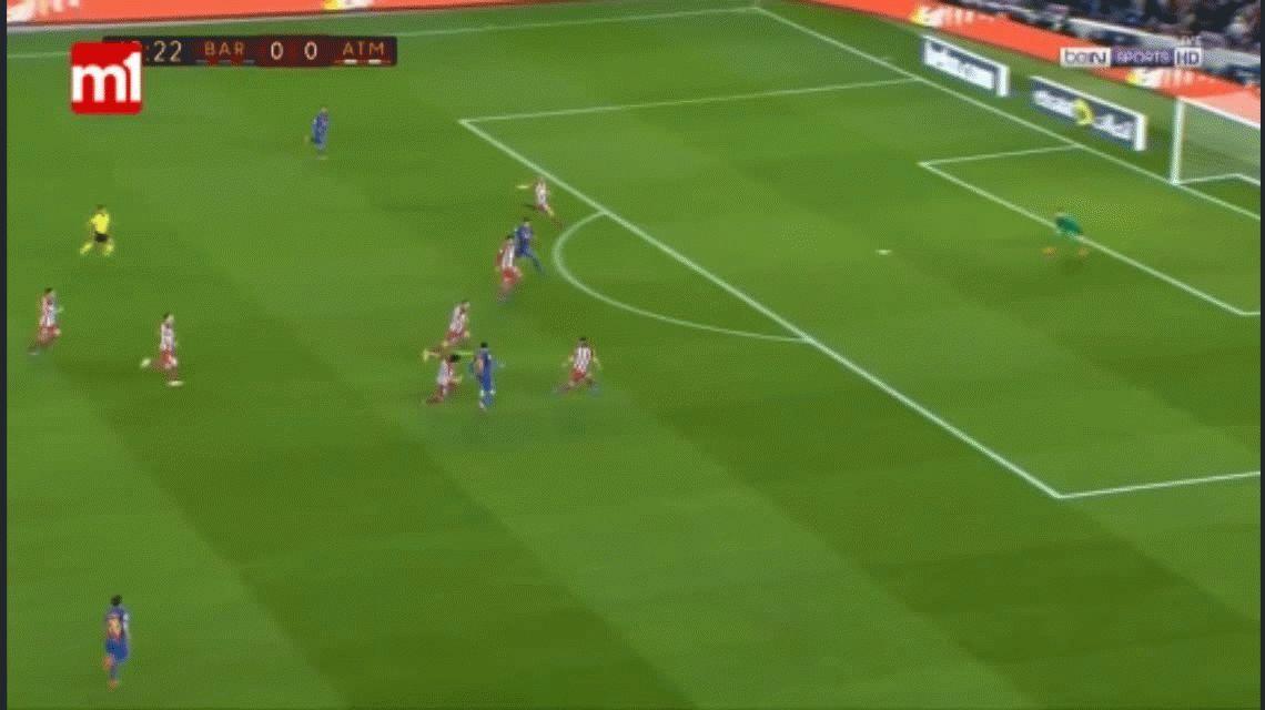 Barcelona eliminó al Atlético Madrid de Simeone y jugará la final