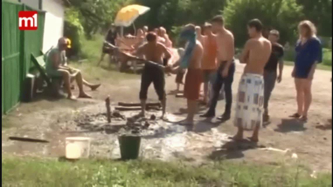 Un juego peligroso entre amigos terminó muy mal