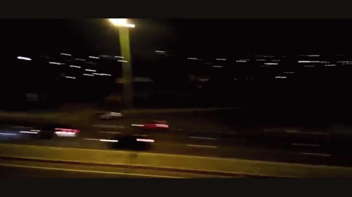 VIDEO: El plantel de Atlético Tucumán yendo al estadio a 130 kilómetros por hora