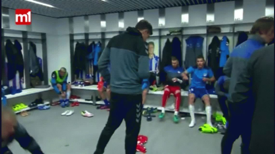 VIDEO: Las últimas indicaciones de Pellegrino antes de llegar a la final