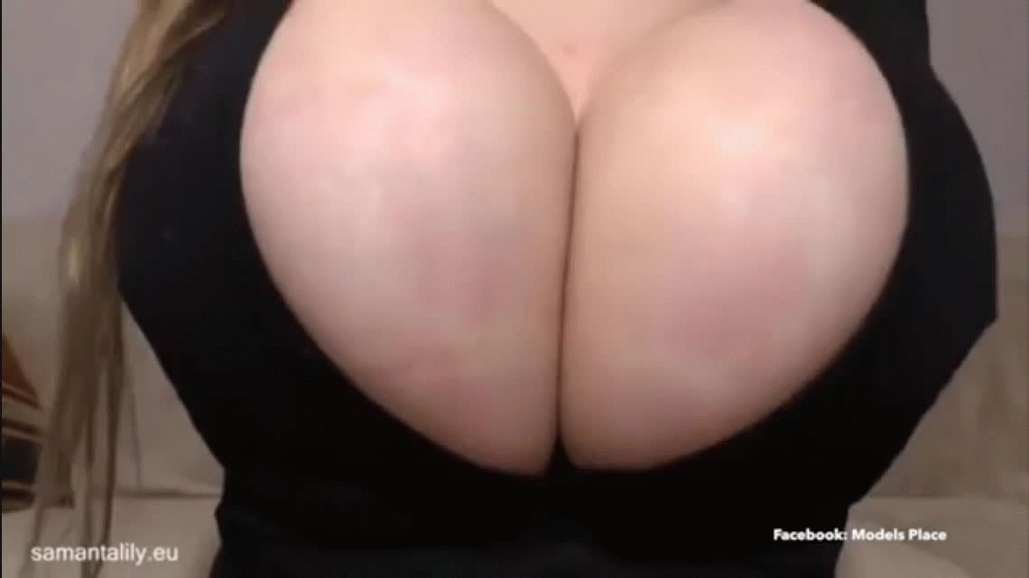VIDEO: Una actriz porno hace explotar sus camisas con las lolas