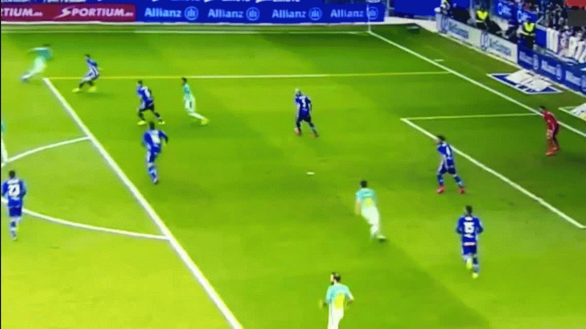 Con un gol de Messi, Barcelona aplastó al Alavés como visitante