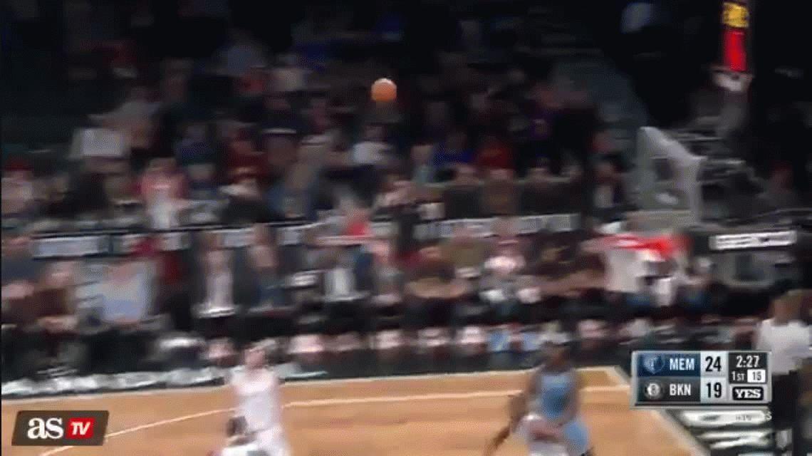 NBA: Luis Scola, humillado en la derrota de los Nets ante los Grizzlies