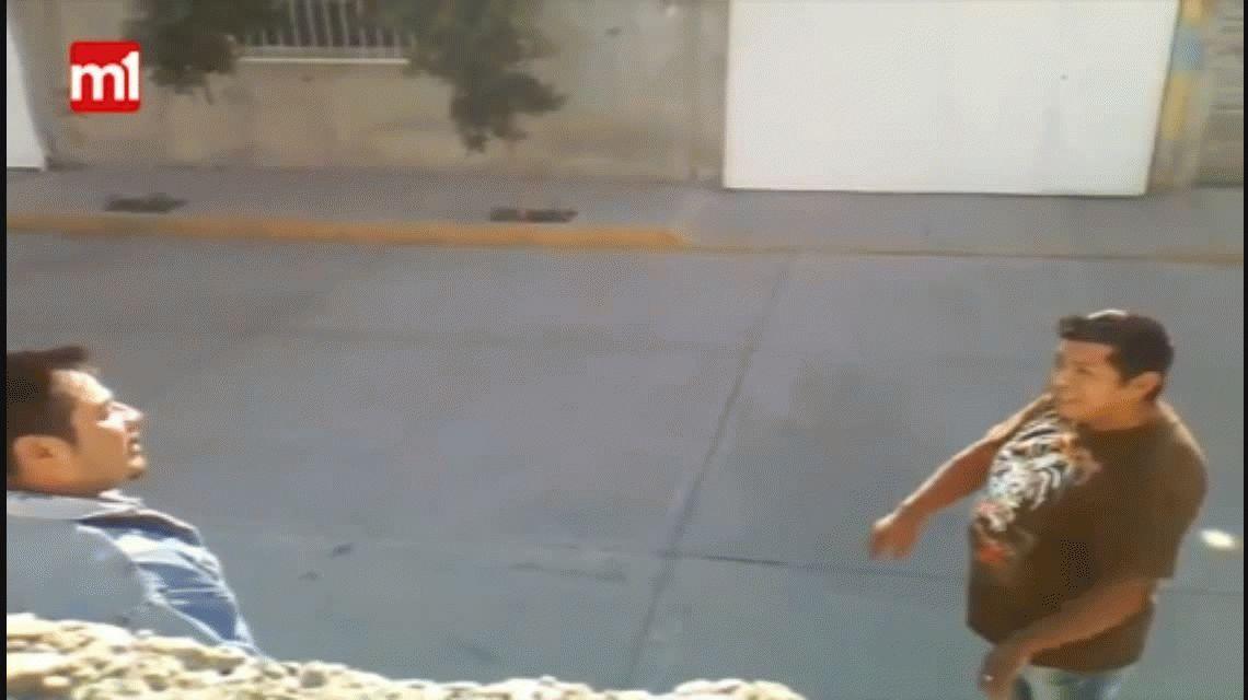 VIDEO: Una pelea entre vecinos termina con un baleado