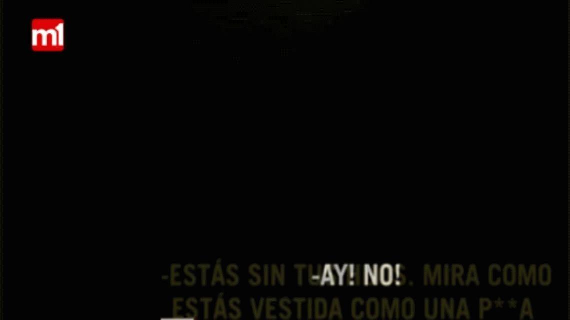 Difunden un video de Pato Cabrera en el que agrede a su ex pareja