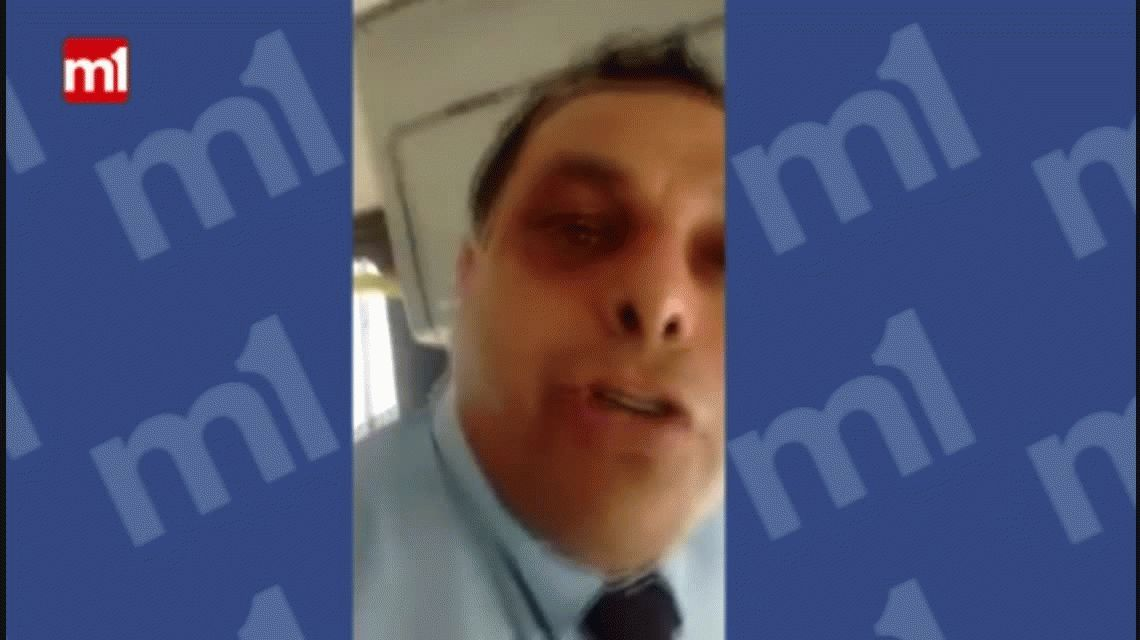 Chofer filmó cómo viajan los pasajeros en Córdoba