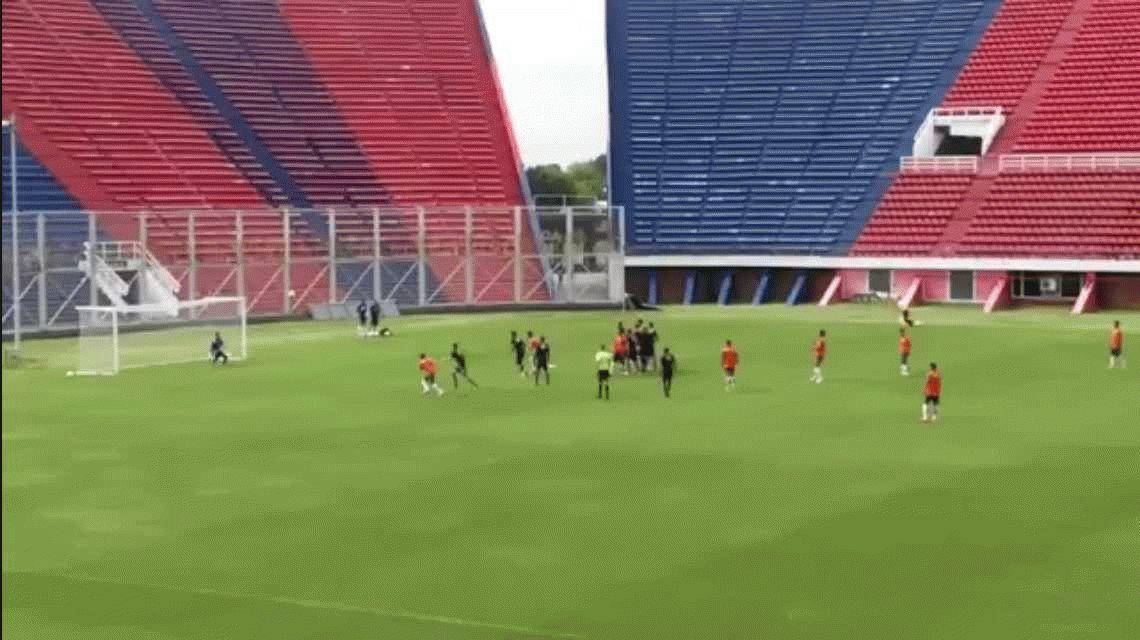 El golazo de tiro libre de Angeleri en la derrota de San Lorenzo ante Talleres