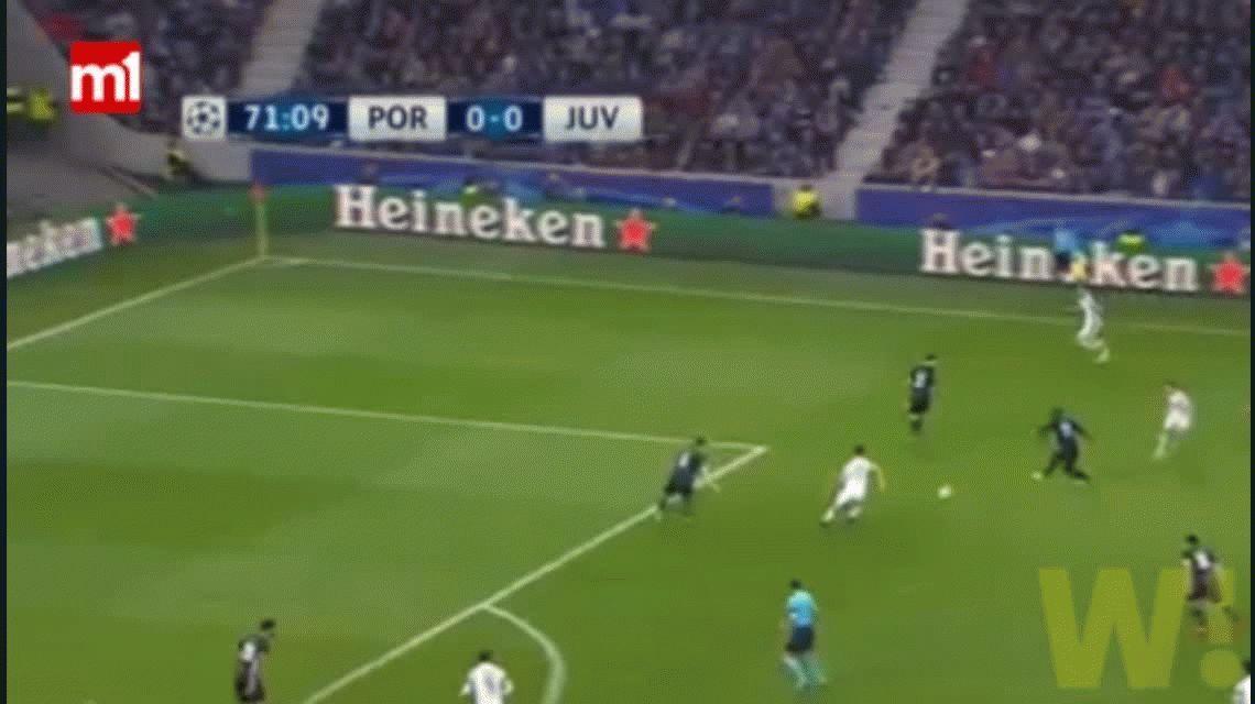 Con Higuaín y Dybala, la Juventus le ganó al Porto como visitante