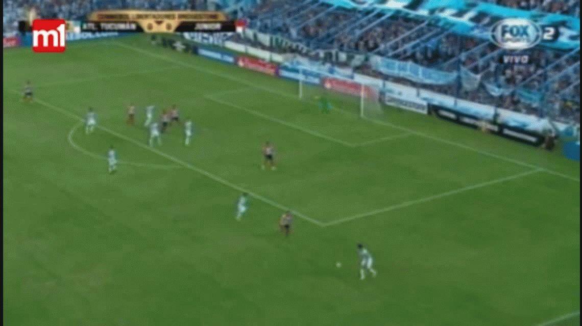 Atlético Tucumán sufrió ante Junior y se metió en la fase de grupos de la Copa Libertadores