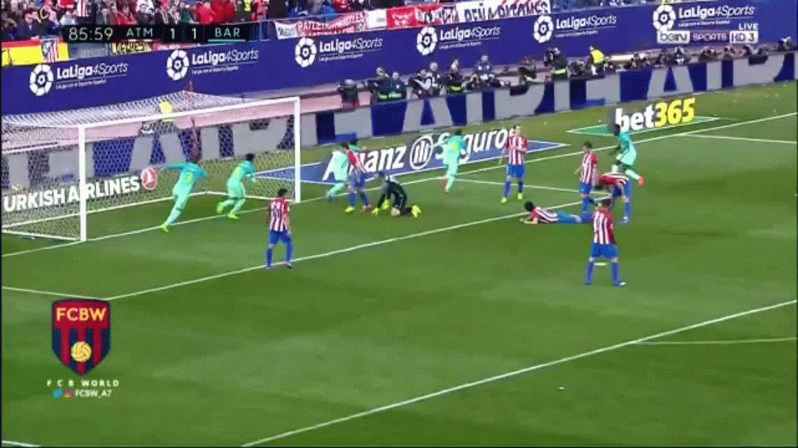 Lionel Messi frotó la lámpara y Barcelona amargó al Atlético de Simeone