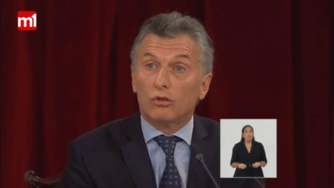 El irónico comentario de Felipe Solá durante el discurso de Macri: Qué importante