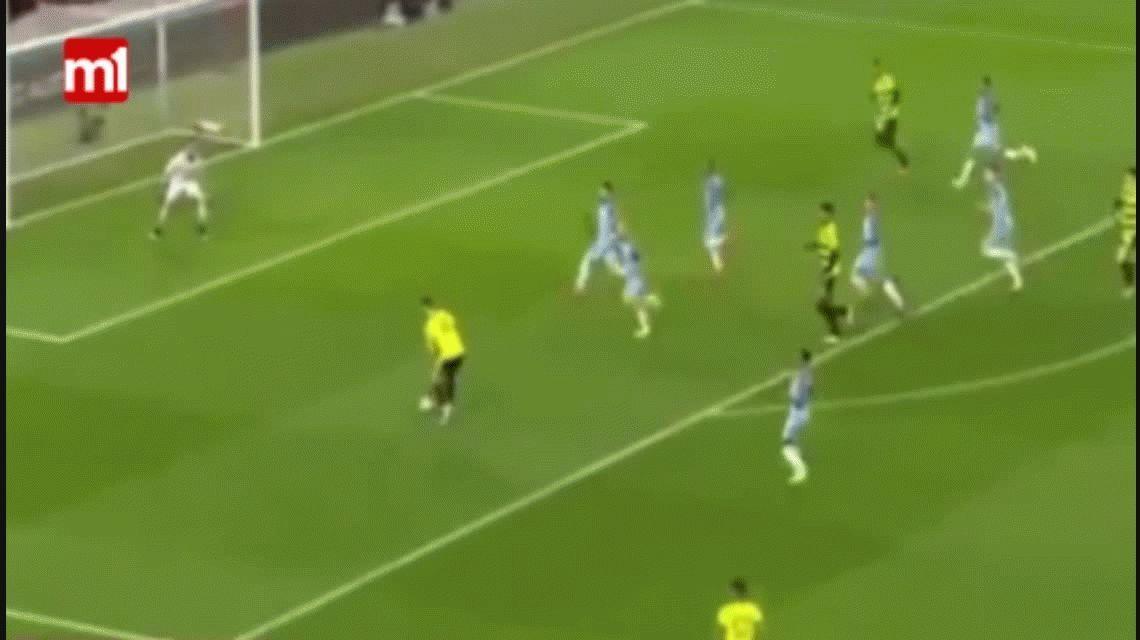 Con goles de Agüero y Zabaleta, Manchester City avanzó en la FA Cup