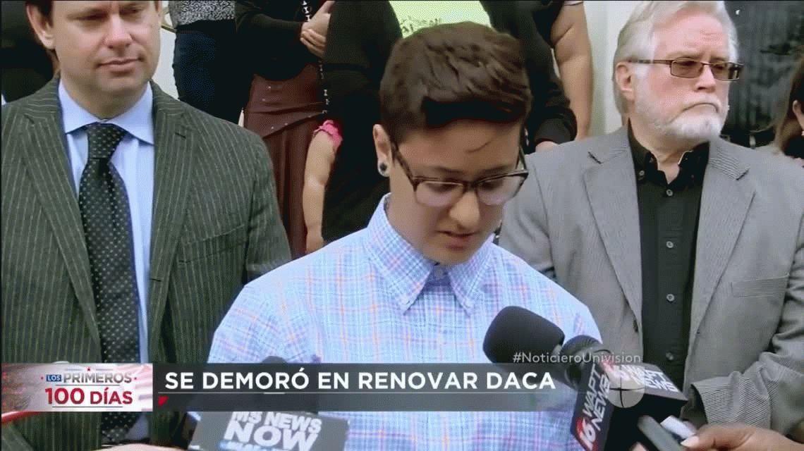 Informe del canal Univisión sobre Daniela Vargas
