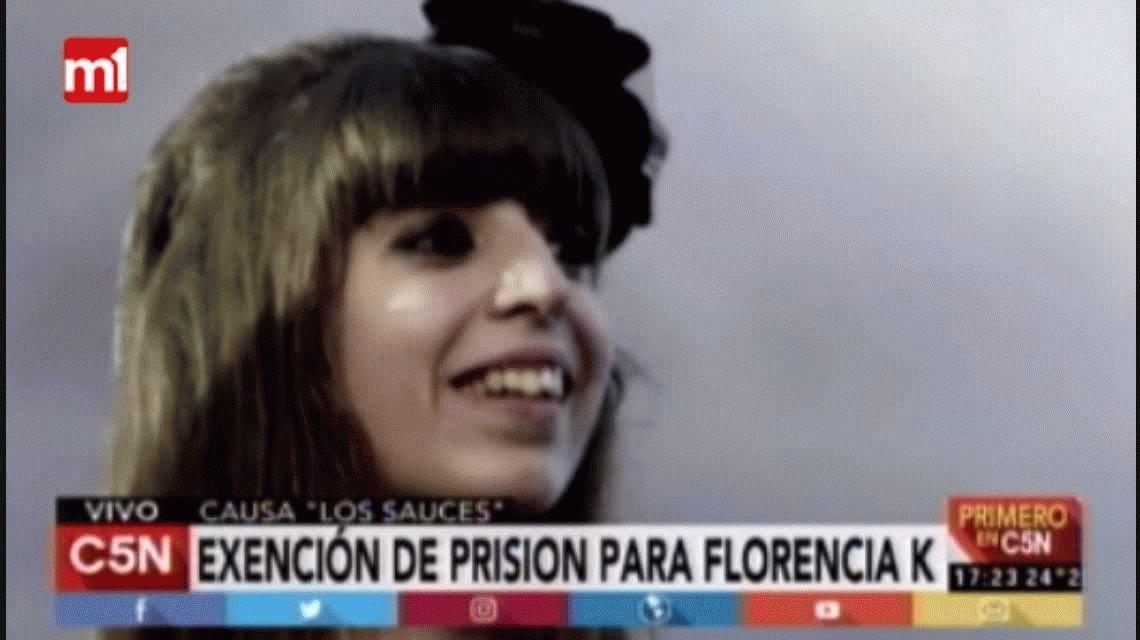 Bonadio concedió la exención de prisión a Florencia Kirchner